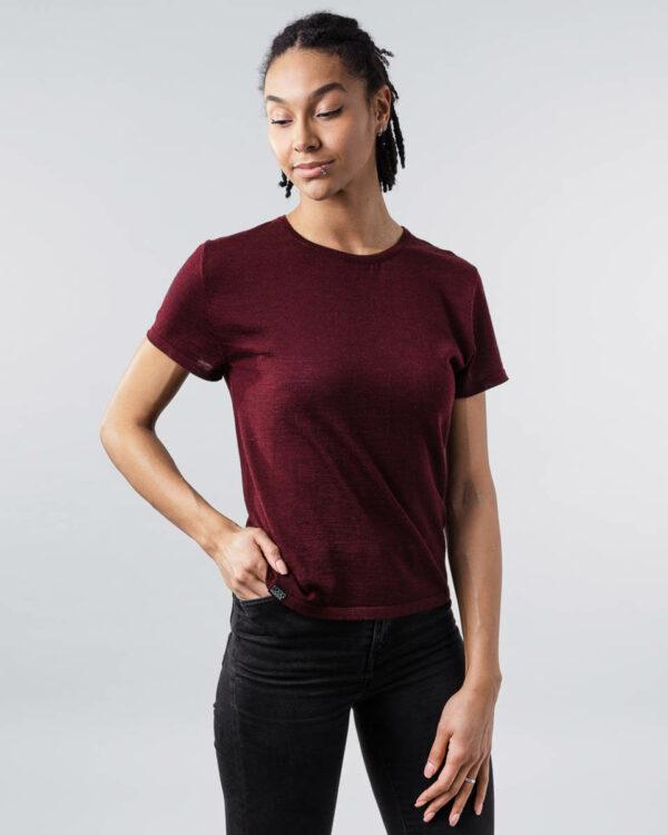 FOGG_Gildeskal_T-Shirt_T-Skjorte_Classic_Klassisk_Burgunder-Rød_Burgundy-Red_Front.jpg