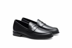 sko loafer aurlands svart
